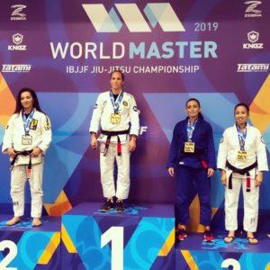 World Master IBJJF 2019, Laurene sur le toit du monde