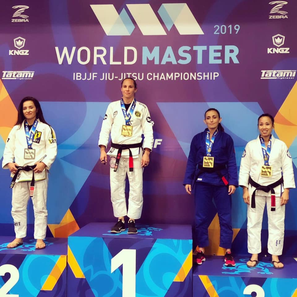 World IBJJF 2019 podium