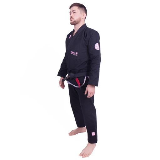Kimono de JJB Managaura Noir de côté