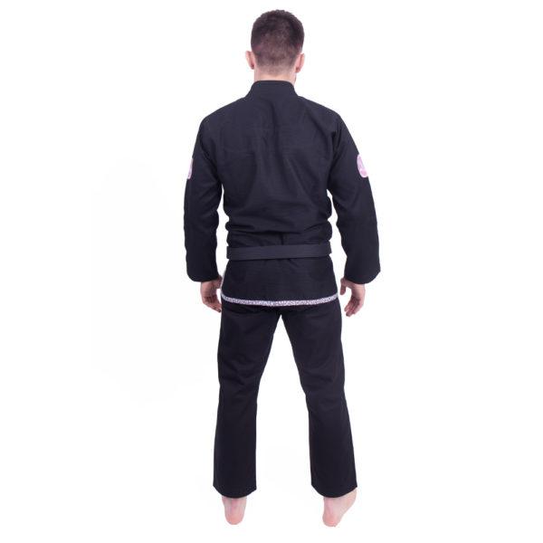 Kimono de JJB Managaura Noir de dos