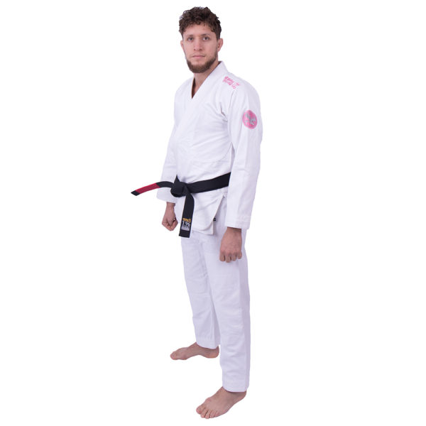 Kimono de JJB Practise Blanc de côté
