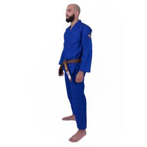 Kimono de JJB Practise Bleu de côté