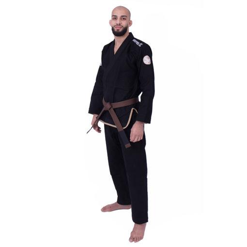 Kimono de JJB practise noir de côté