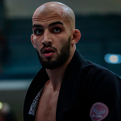 Reda Hamzaoui, athlète international de JJB