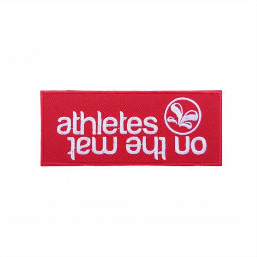 sweat à capuche Logo Box Rouge