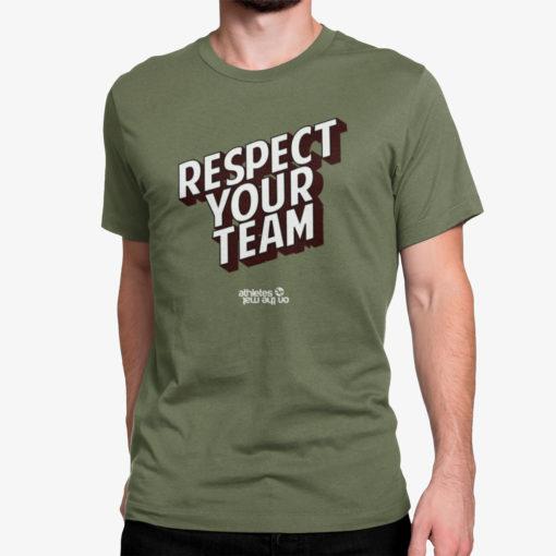 Tee shirt JJB Sportswear, Respect Your Team