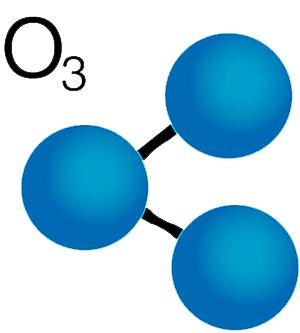 ozone, produit écologique présent dans l'atmosphère pour entretenir son kimono jjb