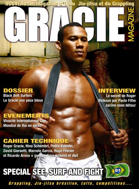 Gracie Magazine, le magazine 100% jiu-jitsu et Grappling