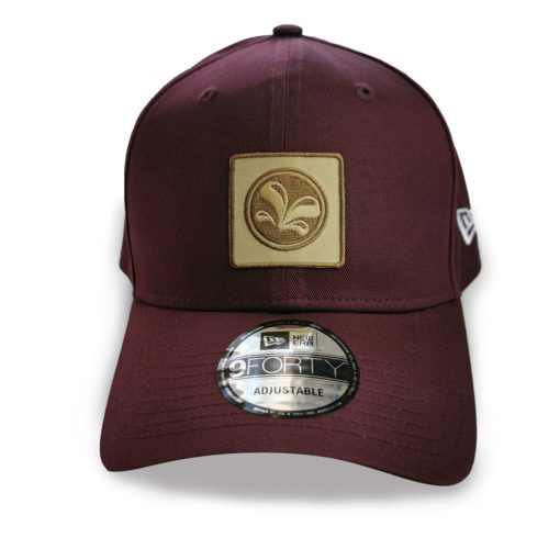 Casquette 9Forty New Era burgundy de face