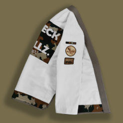 Veste du kimono de Jiu-Jitsu Brésilien vue de côté
