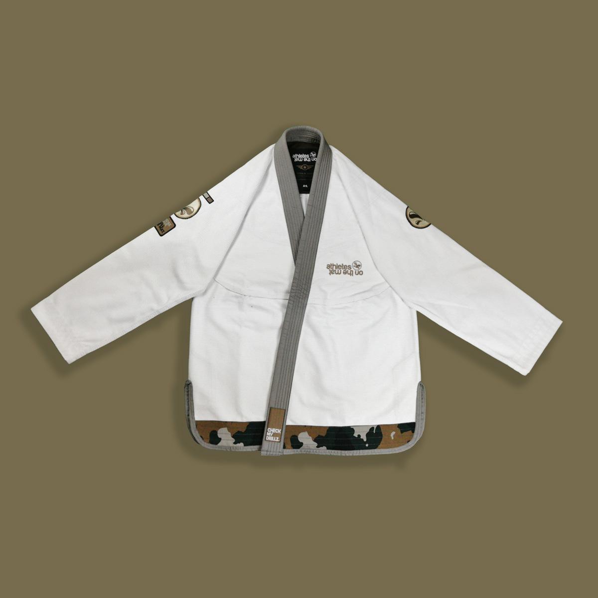 kimono jjb Camo avec veste fermée