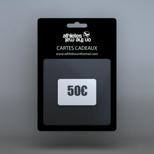 cartes cadeaux 50€